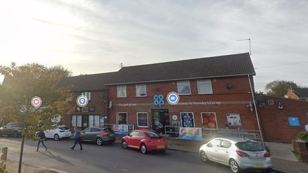 Hemsby co-op store contacted police after a man came in with a head injury