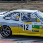 Malcolm Wise of Green Belt Motor Club in his Ford Escort Cosworth.