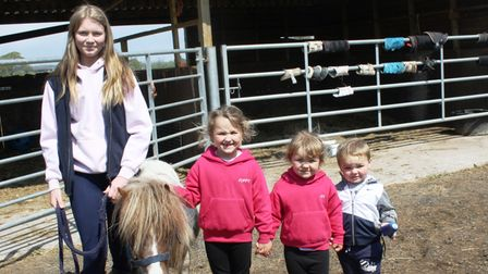 Reggie the Shetland pony was one of the favourites at Sperrings May fair.
