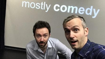 Mostly Comedy will returnfor a week of live comedy, featuringpodcast interviews with top comedians