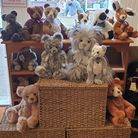 Teddybears and other soft toys at Abracadabra Teddy Bears, Saffron Walden