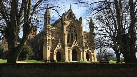 St Albans cathedral is just one of the city centre's attractions.