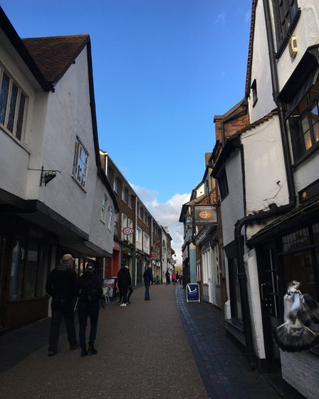 French Row, St Albans.