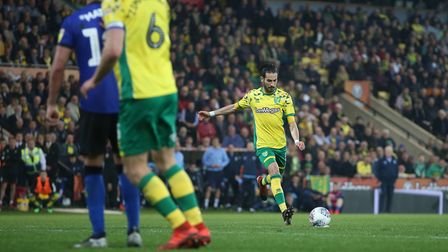 Mario Vrancic produced another stunning moment of a truly memorable Norwich City campaign - that cou