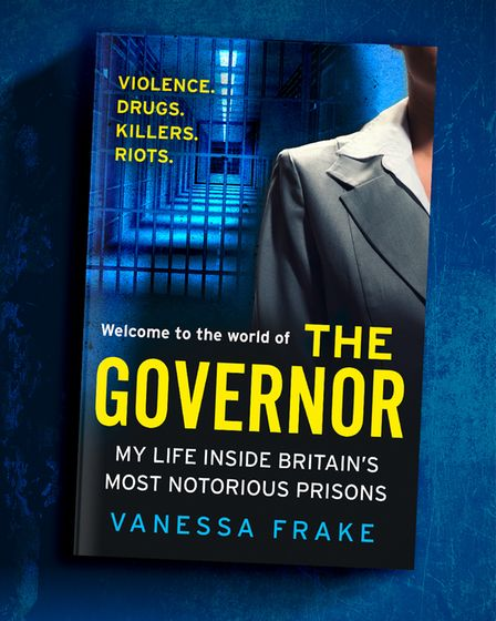 """A book with big yellow text across the front: """"The Governor: My life inside Britain's most notorious prisons"""""""
