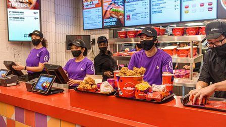 There are plans for 50 Jollibee restaurants across Europe by 2025.