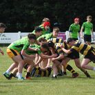 Yatton Colts in action against Hornets