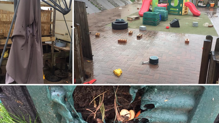 Vandals target Jack n Jill Pre-school at Stone Lodge Youth and Community Centre in Ipswich