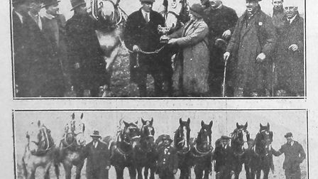 A cutting from the Herts Advertiser which mentions the Muir family.