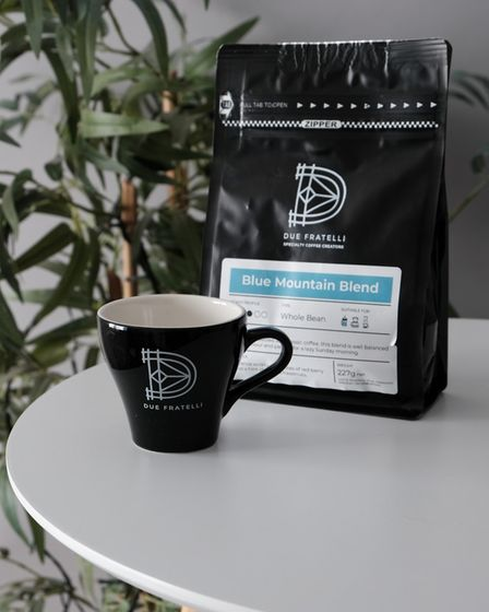 Due Fratelli in Suffolk Blue Mountain coffee blend