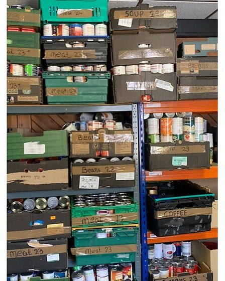 Food bank stores