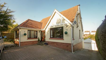 The Marldon Road, Paignton, property offers a flexible layout with a large rear garden and sea views