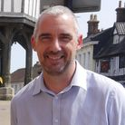 Kevin Hurn, mayor of Wymondham.
