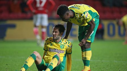 Alex Tettey and Mario Vrancic will leave Norwich City in the summer
