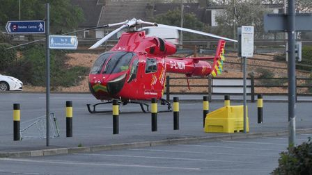 London Air Ambulance was called to a fatal stabbing at Brent Cross Shopping Centre