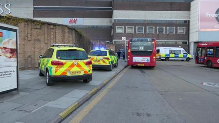 Two teenagers have been arrested after a 21-year-old man was fatally stabbed in Brent Cross Shopping Centre