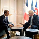 File photo dated 22/08/19 of Prime Minister Boris Johnson meeting French President Emmanuel Macron a