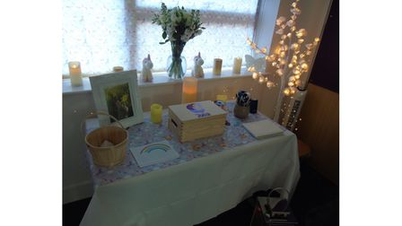 A room of condolence has been set up at Marriotts School, Stevenage, in tribute to Julia Blackham