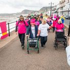 Charlotte Reid and her family take on Captain Tom's 100 challenge, walking 100 laps of Sidmouth Esplanade