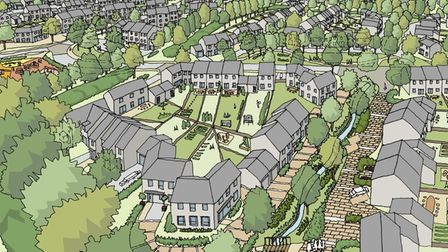 An impression of the Inglewood development