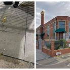 A group of people were attacked with eggs and stones outside the Ilford Islamic Centre