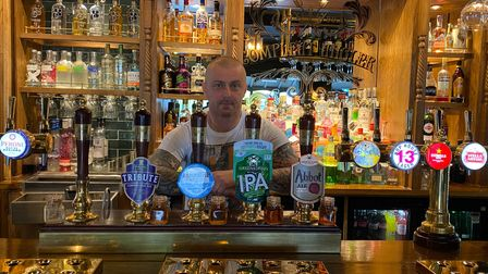 Andy Coe, landlord of the Compleat Angler, is looking forward to the matchday atmosphere when Norwich City fans can return