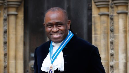 Lionel Wallace High Sheriff of Hertfordshire