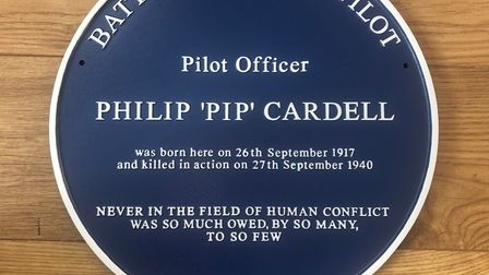 The Blue Plaque will be placed at Manor Farm in Great Paxton where Pip was born.