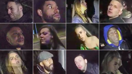 Do you recognise any of these people who breached Covid regulations on New Year's Eve?