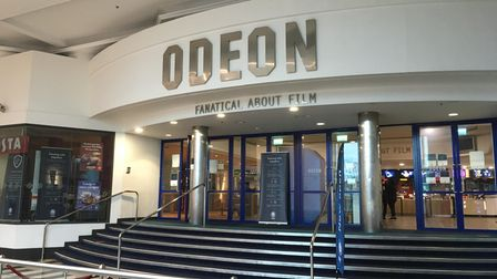 The Odeon cinema at The Galleria in Hatfield.