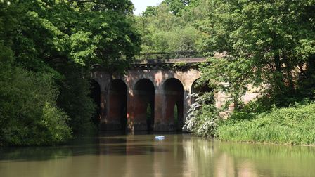 The Kenwood Viaduct Pond. Picture: Ken Mears