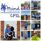 Some of the Three Counties Running Club athletes who took part in the relay for CPSL MIND