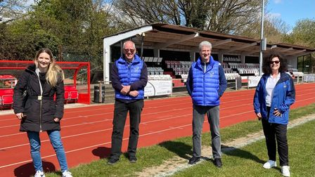 Hornchurch and Upminster MP visits athletics club