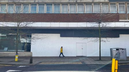 One of the empty units for lease on St Stephens Street