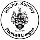Hitchin Sunday League badge logo crest