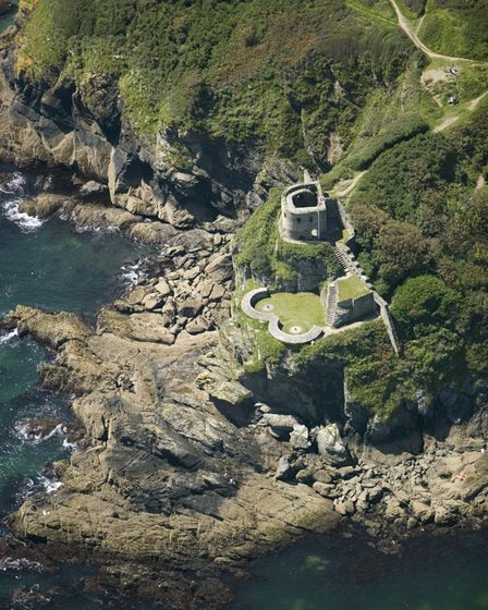 St Catherines Castle in Fowey