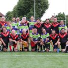 St Albans Centurions' masters with South London Silverbacks