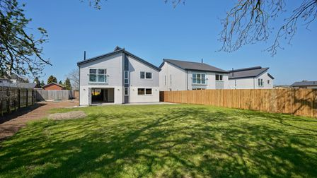 four or five bedrooms, large garden