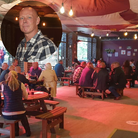 Inset: Aidan Mahon has launched the Weir, a riverside bar in Norwich