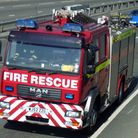File picture of a Devon and Somerset Fire and Rescue service fire engine