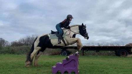 NiamhFogerty's horseRose was saved from the stables