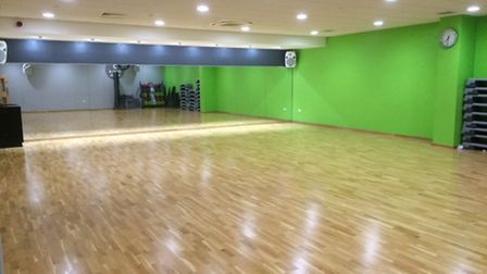 Vale Farm Sports Centre's dance studio
