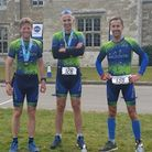 Craig Dyce, Chris Outtersides and Lem Lawrence of WaldenTRI