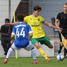 Timm Klose of Norwich in action during the Pre-season friendly match at Hotel-Residence Klosterpfort