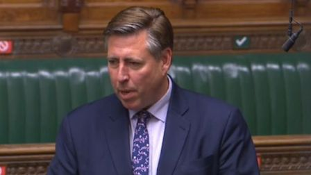 Graham Brady in the House of Commons. Photograph: Parliament TV.