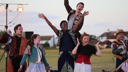 An energetic performance by touring theatre groupChangeling Theatre