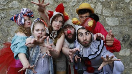 Changeling Theatre troupe tour each summer performing Shakespeare in Kent and other South East counties
