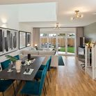 A show home at the launch of Laureate Fields, Felixstowe