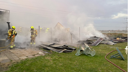 Fire at Upminster stables