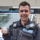 PC Adam Catling saved the life of a man who had overdosed in a park.